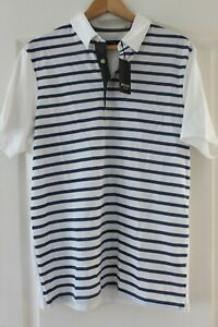 Wolsey Stripe Front Polo Shirt Size M - New with defect
