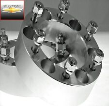 2 Pc Chevy HD 1500 6 Lug Wheel Spacers Adapters 2.00 Inch # AP-6550E1415