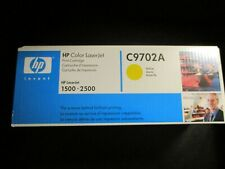 HP Color LaserJet Print Cartridge C9702A Yellow - For LaserJet Series 1500-2500