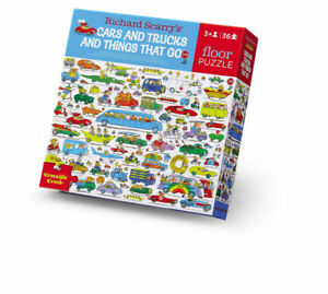 Crocodile Creek - Richard Scarry Cars and Trucks 36pc Puzzle