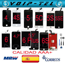 PANTLLA  LCD DISPLAY IPHONE 4/4S/5/5C/5G/5S/5SE/6/6+/6S/6S+/7/7+ Plus/8+ AAA+