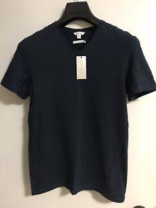 Calvin Klein Men V-Neck Super Slim T-Shirt New (S)