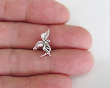 Sterling Silver 17mm Fairy small pendant