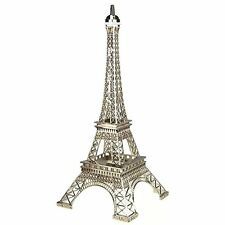 "Silver Eiffel Tower 20"" Cake Topper Centerpiece Gift Keepsake Decoration"