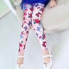 Joli enfant bébé filles Leggings pantalon imprimé floral 4-12 Ans