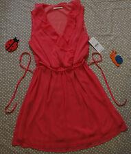 NEUF ✿❀ Robe légère doublée volants femme ✿❀ CAMAÏEU ✿❀ Taille 40