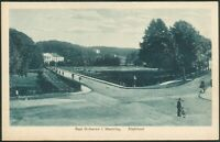Postkarte Bad Doberan i. Meckl. -Stahlbad(2), ungelaufen, um 1920, II