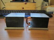 2 X DISSIPATEURS RADIATEURS HEATSINK FOR DELL OPTIPLEX SX280 USFF 0Y1851 0X599G
