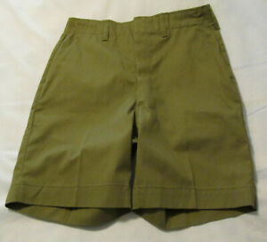 "BSA Boy Scout Uniform Shorts Youth Waist 28"" EXCELLENT"