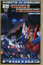 Transformers Robots In Disguise Annual 2012 nm+ 9.6 IDW Standard cover