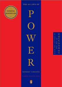 The 48 Laws of Power by Robert Greene (English) Paperback Book Free Shipping!