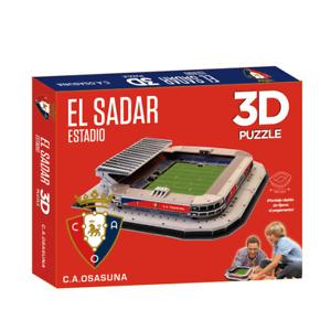Osasuna El Sadar Estadio Stadium 3D Jigsaw Puzzle (efp)