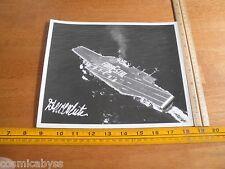 1960's USS Forrestal CVA-59 aircraft carrier NAVY battle efficiency celebration