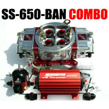 QUICK FUEL SS-650-BAN CFM GAS BLOW THROUGH ANN & REGULATOR PUMP COMBO NEW