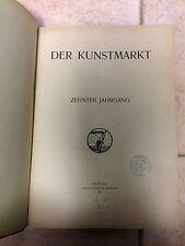 DER KUNSTMARKT zehnter jahrgang Seemann 1913