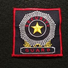 Security Guard Patch / Protection Services