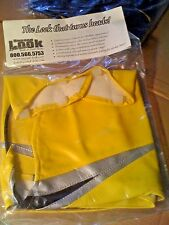 2004 SUZUKI GSXR 750 TANK BRA Yellow/Silver/Black SECOND LOOK SPORTBIKE COVERS