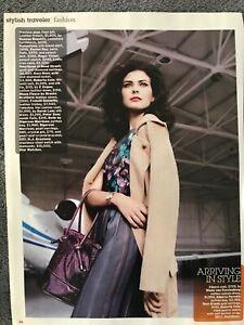Sigerson Morrison , Dior ~ Stylish Travler ~ 2008 Vintage Print AD B70