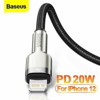 Baseus USB C for Appel PD 20W Fast Charging Charger Cable For iPhone 12 pro Max