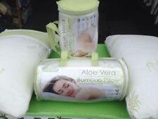 2 Queen Hypoallergenic Classic Memory Foam  Aloe Vera Bamboo Pillow New
