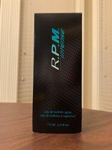 Vintage Avon R.P.M. Intense Eau De Toilette Spray 2007 2.5 fl oz
