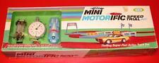 Vintage 1960's IDEAL MINI MOTORIFIC SPEED TRIAL SET SEALED Old Store Stock MIB !
