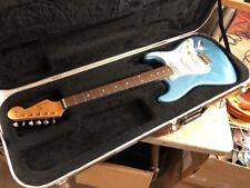 2000 Fender MIM 60s Reissue Stratocaster Lake Placid Blue - Excellent