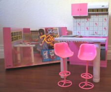 12NEW GLORIA DOLL HOUSE FURNITURE Classic Small Kitchen With Island set (94016)