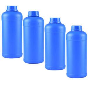4pcs Bottle 1L Sealed Plastic Sample Bottle Factory Bottle Container