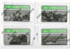 BT Phonecards - D Day Landings WW2 - Set Of Four Phone Cards