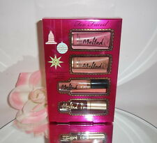 Too Faced Under The Kissletoe The Ultimate Liquified Lipstick 4pc Gift Set Kit