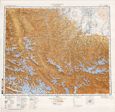 Russian Soviet Military Topographic Maps – KARGALYK (China), 1:500 000, ed.1988