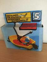 Schleich Smurfs ACCESSORIES PLAYSET #5 SAILING BOAT MIB vintage