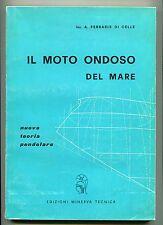 A. Ferraris Di Celle IL MOTO ONDOSO DEL MARE Edizioni Minerva Tecnica Libro Onde