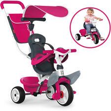 Smoby Dreirad Baby Balade Comfort II Mädchen 3-Rad Fahrrad Kinder Sonnendach NEU