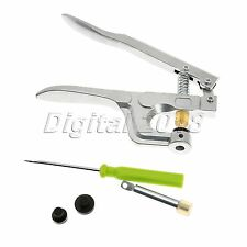 Button Maker Hand Press Starter Press Snap Plastic Resin Pliers DIY Craft Tool