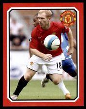 Panini Manchester Utd 2008 - Wigan Athletic v Manchester Utd - Scholes No.208