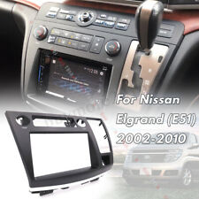 Radio Facia Dash Kit Panel Fascia Plate Fits For Nissan Elgrand (E51) 2002-2010