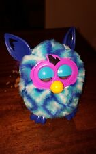 2012 Furby Boom Diamond Blue / White / Teal / Purple ~ Works