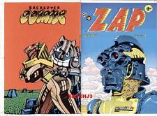 SPAIN RODRIGUEZ ZAP COMIX #7 ORIGINAL COVER PROOF PRODUCTION ART UNDERGROUND