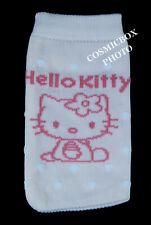 HELLO KITTY housse de téléphone portable ipod étui chaussette mp mp4 rose à pois