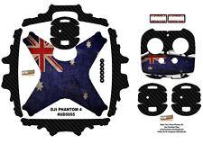 Ultradecal DJI Phantom 4 P4 Skin Wrap Decal Sticker Vinyl Australian Flag