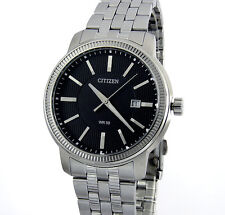 CITIZEN MEN WATCH JAPAN QUARTZ MOVEMENT DATE 40mm STAINLESS STEEL BI1081-52E