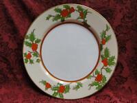 """Fitz & Floyd Christmas Holly: Dinner Plate (s) 10 1/4"""""""