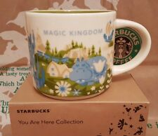 Starbucks Coffee Mug/Tasse DISNEY'S MAGIC KINGDOM V2 You Are Here/YAH,NEU i.OVP!