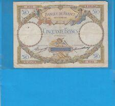 50 Francs LUC OLIVIER MERSON Type 1927 Modifié du 1-3-1934   A.15158
