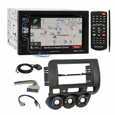 Planet Audio DVD GPS Bluetooth Stereo Dash Kit Harness for 2007-08 Honda Fit