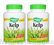 Nature's Way, Kelp, 600 mg, 360 Veggie Capsules