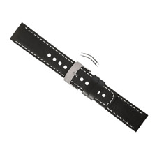 Suunto Elementum Terra Black Leather Watch Band  Strap Kit SS014826000