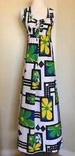 Malihii Hawaii For Liberty House Vintage Floral Maxi Dress Size 6